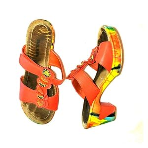 Alia slip on wedge sandal size 5